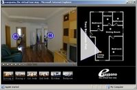 Click to see the Real Estate virtual tour demo 2 Bedroom Flat.